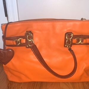 Orange Leather Juicy Couture Bag